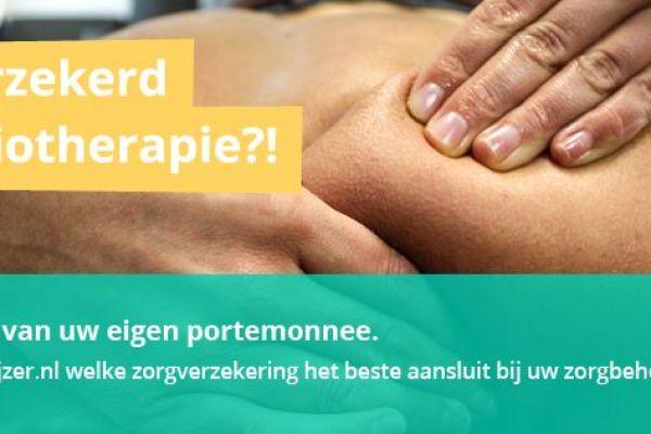 Goedkoopste zorgverzekeringen met fysiotherapie in 2020