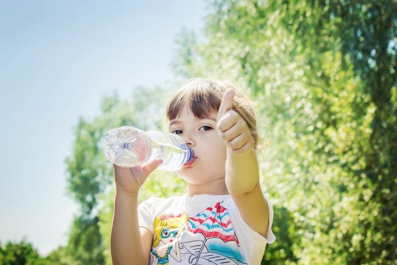 Drinkt u genoeg water?