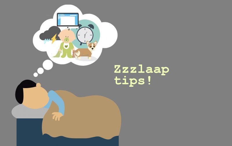 ZZZZZlaap lekker met onze slaaptips