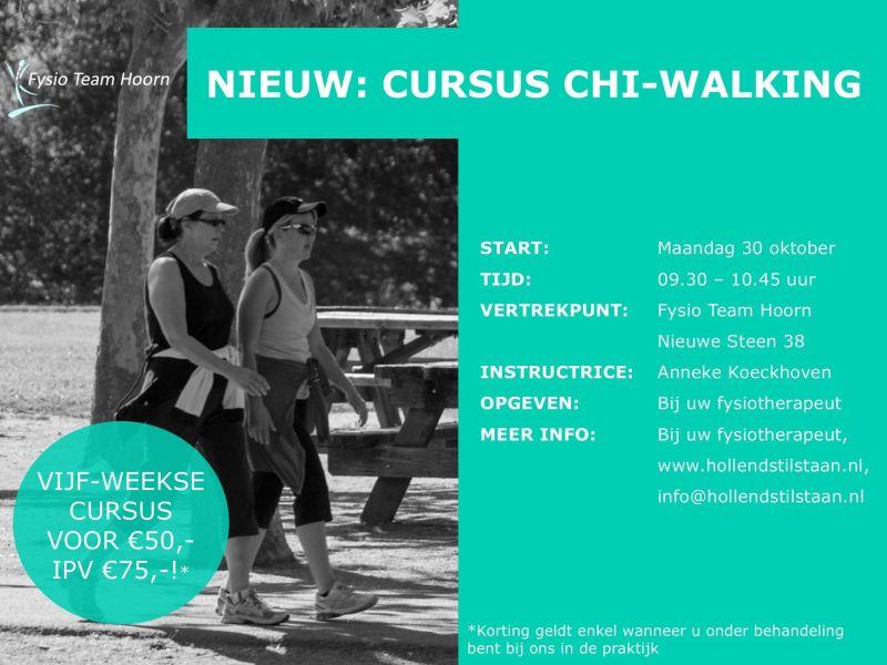 Nieuw: Cursus Chi Walking